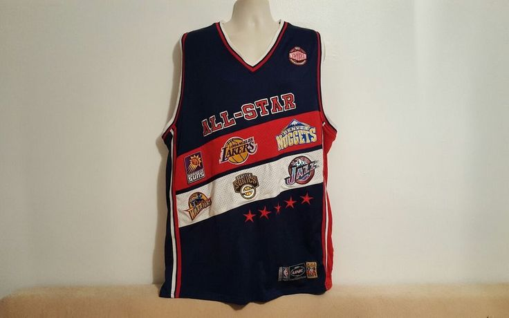 UNK NBA All Star 2004 Western Conference 3XL Basketball Multicolor Jersey #UNK