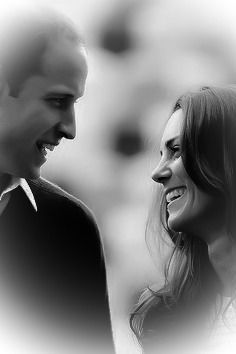 They are the cutest couple and love glows between them..William & Kate