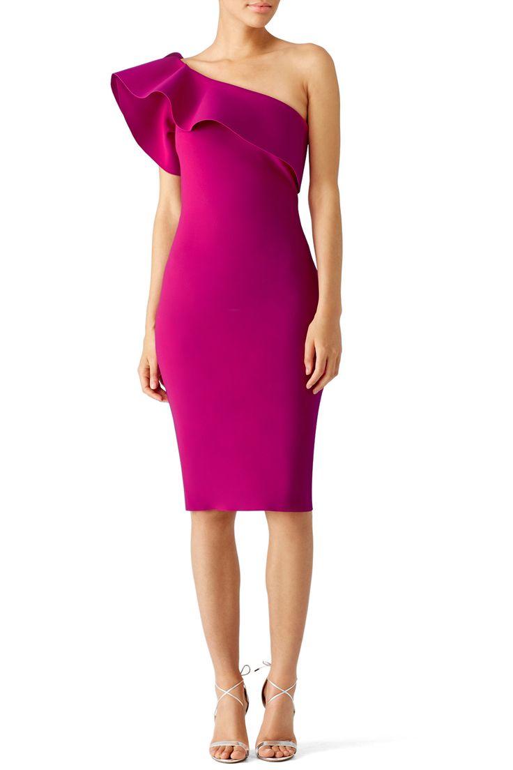 Rent Magenta Elisse Dress by La Petite Robe di Chiara Boni for $120 only at Rent the Runway.