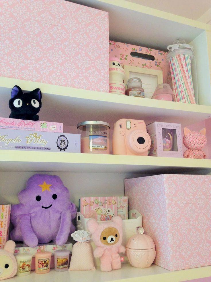 30 Fantastic Pastel Room Decor Ideas Pastel Room Decor Kawaii Bedroom Kawaii Room
