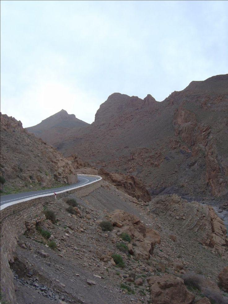 Morocco, Gorges du Ziz area, near Er Rachidia