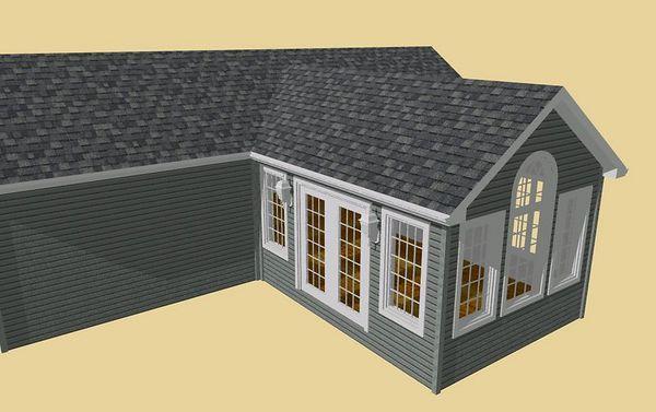 Common Or Scissor Trusses Doug Dougaphs House Plans House Styles Remodel