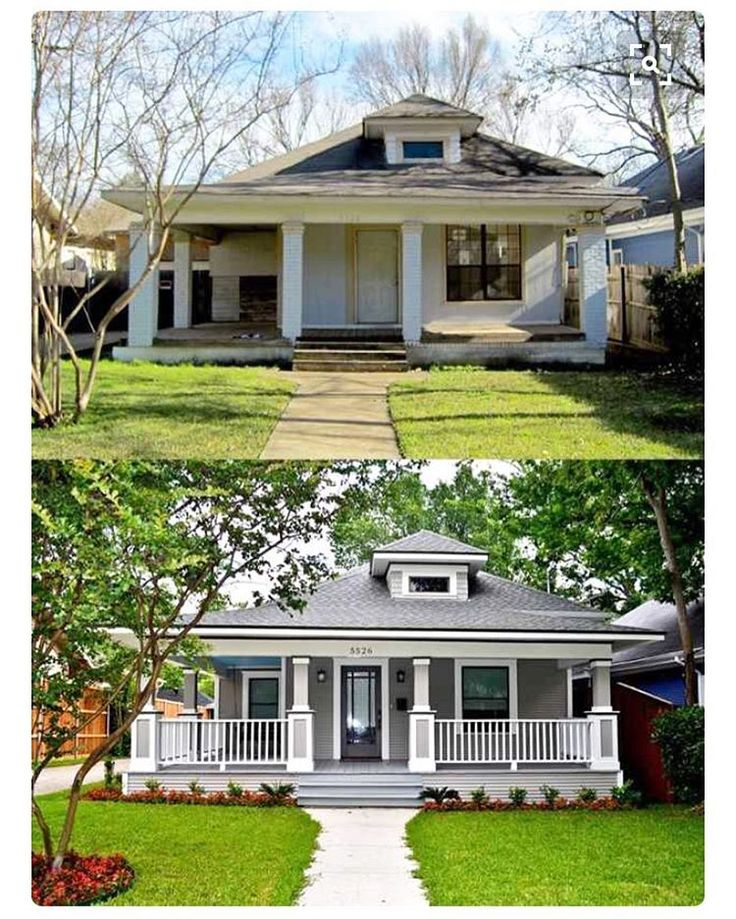 50 Stunning Modern Home Exterior Designs That Have Awesome: 17 Best Ideas About Bungalow Porch On Pinterest
