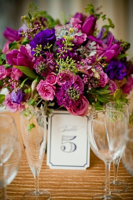 74 best Purple Wedding Theme images on Pinterest | Wedding stuff ...
