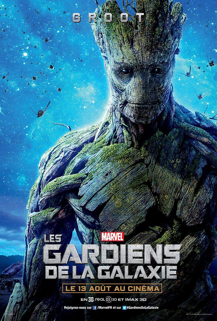 Affiche Les Gardiens de la galaxie Groot