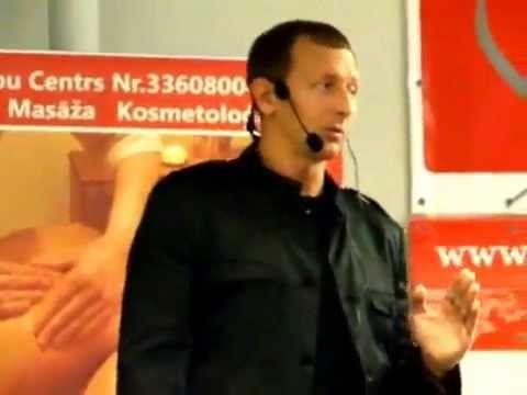 Фитнесс-формирующий массаж лица. Александр Ермолаев. Спа-конференция в Риге. - YouTube
