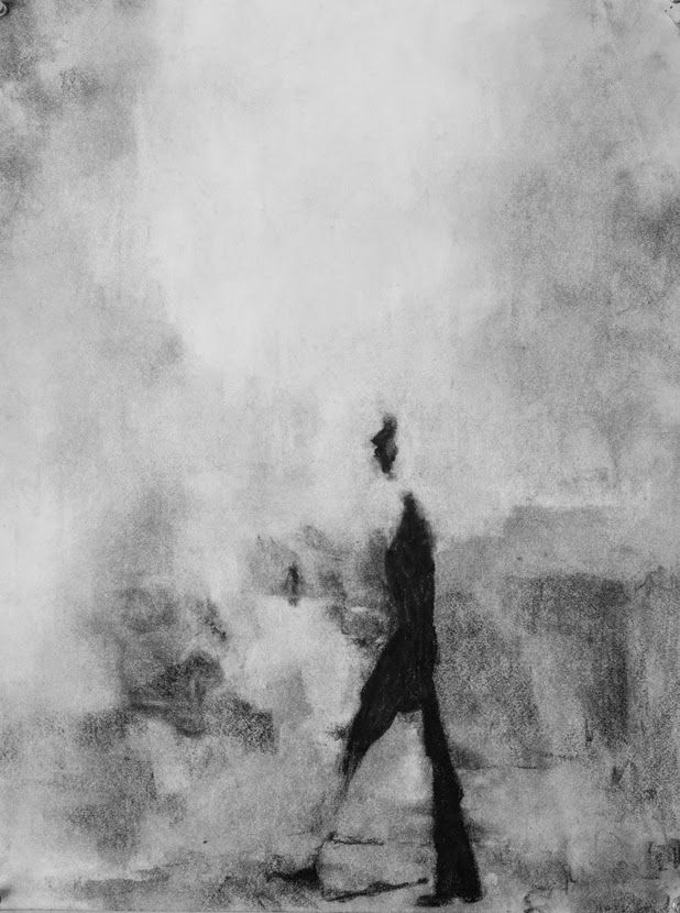 25  best ideas about abstract charcoal art on pinterest