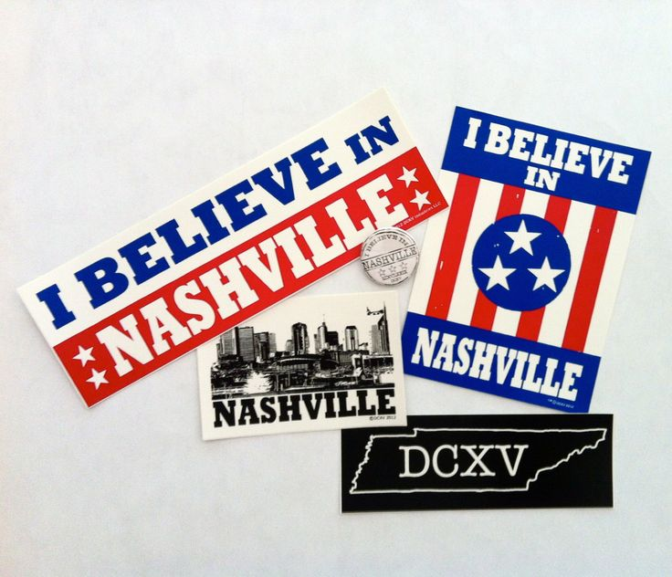 Bumper Stickers Nashville Tn