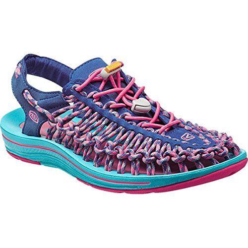 (キーン) KEEN レディース シューズ・靴 サンダル Uneek 3C Sandal 並行輸入品  新品【取り寄せ商品のため、お届けまでに2週間前後かかります。】 表示サイズ表はすべて【参考サイズ】です。ご不明点はお問合せ下さい。 カラー:True Blue/Camellia Rose