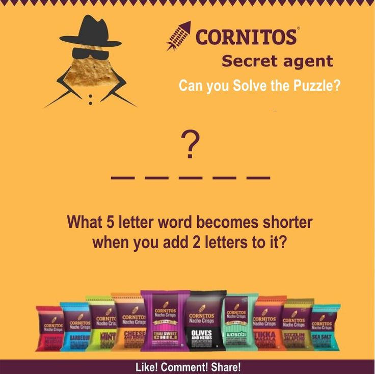 #FunWithCornitos #TriviaAlert  Can you solve the puzzle ?  LIKE! COMMENT! SHARE! TAG!