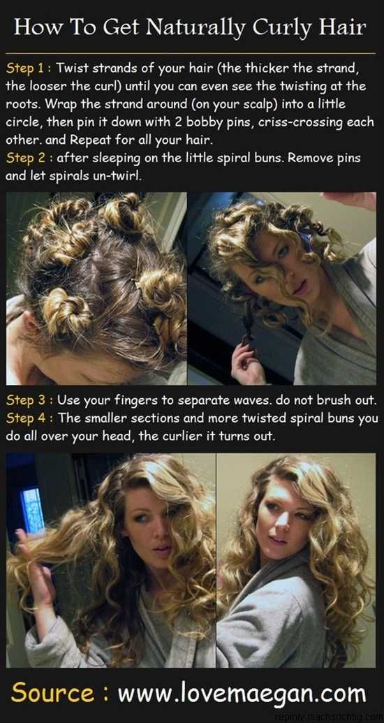 For those of you straight haired people, it really