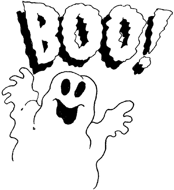 Free Printable BGhost B BColoring BPages For Kids