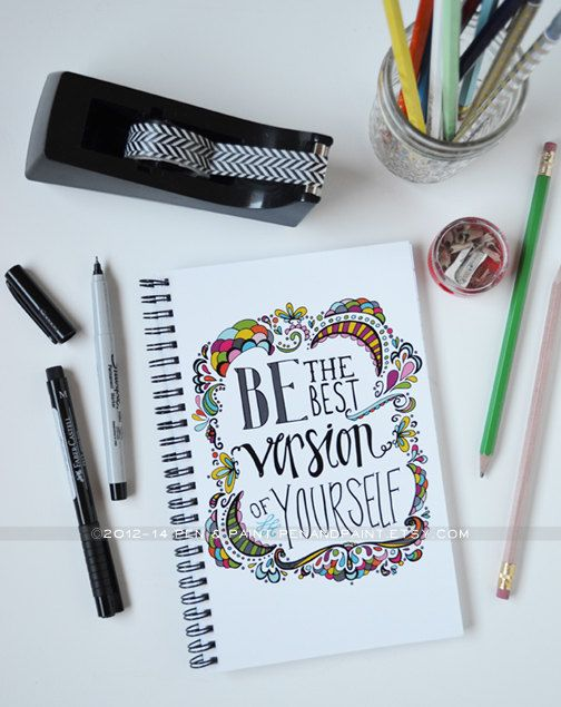 Journal, Notebook, Diary, Spiral Notebook, Dreams, Goals, Be the Best Version of Yourself