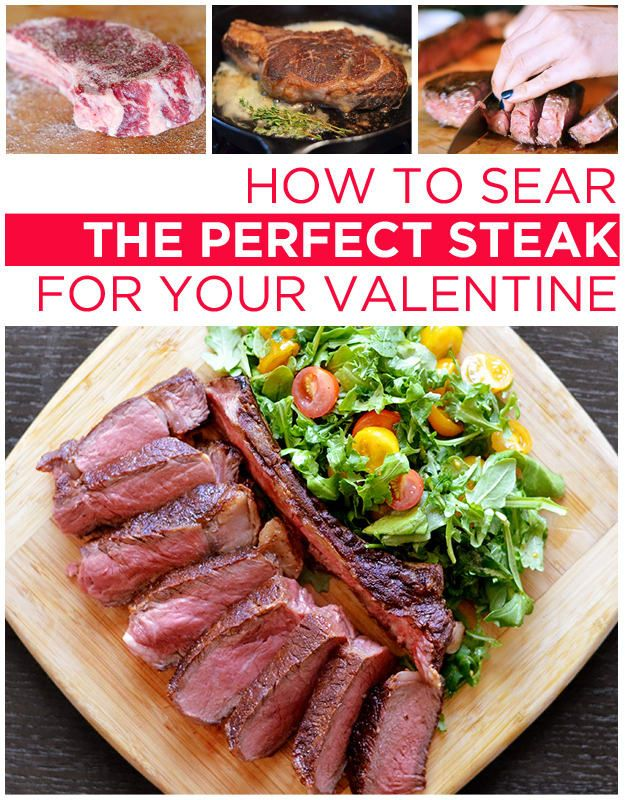 How To Cook The Perfect Steak For Your Valentine