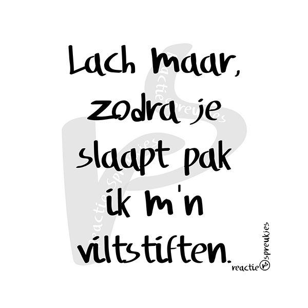 Lach maar... #humor #wraak