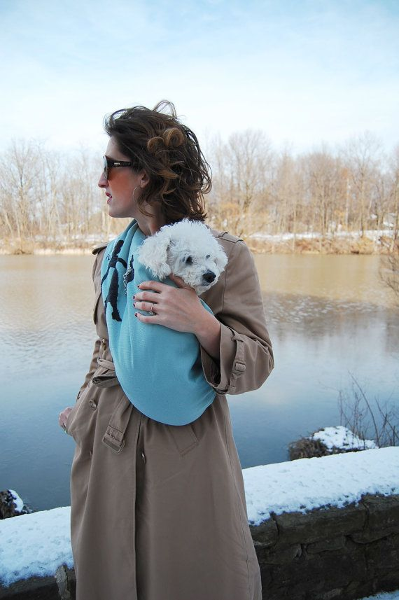 Pretty Princess Small Dog Sling Carrier by FrouFrouFido on Etsy, $65.00