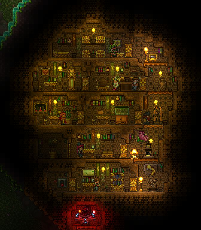 Terraria Base Inspiration: 1000+ Images About Terraria On Pinterest