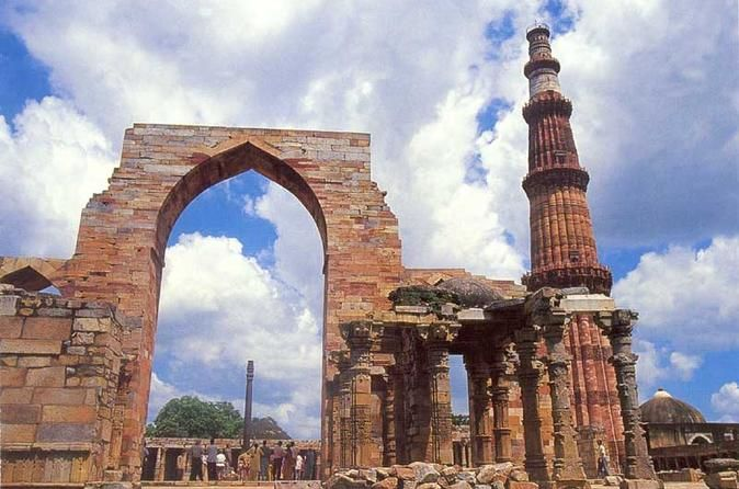 Day Tour of Delhi: Old and New Enjoy private day tour of Old and New Delhi which reflects the images of the past and the reality of the present. Explore heritage monuments like the Humayun Tomb, Qutub Minar and the Jama Masjid, that have been witness to history, meandering narrow streets of Old Delhi .  Around 9am, you will proceed on a guided tour of New Delhi, visiting such sights as Humayun's Tomb, the Qutub Minar and The Iron Pillar which has survived the ...