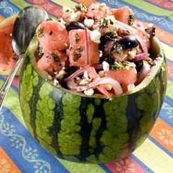 Watermelon Summer Salad Allrecipes.com