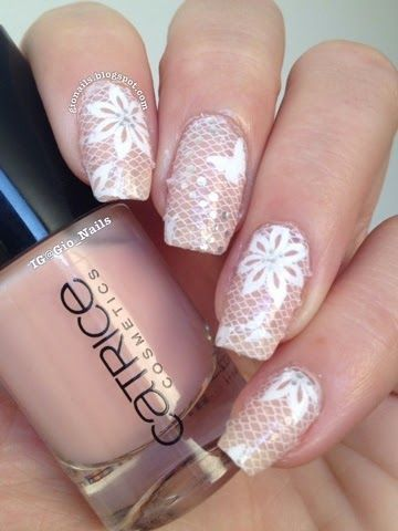 Lace Nails by Born Pretty