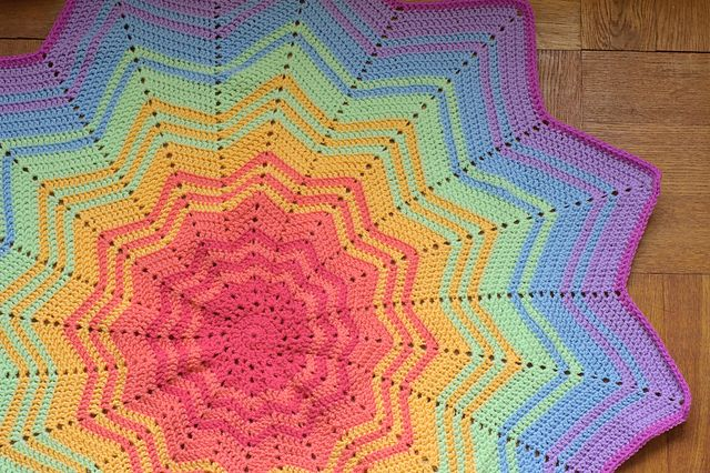 Free Crochet Afghan Patterns For Young Adults : Ravelry: HillyTs Rainbow Sprite Rainbow and Ombre ...