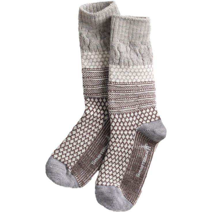 SmartWool Socks (light gray here, but really any comfy/daily wear neutral socks to survive the cold here.)