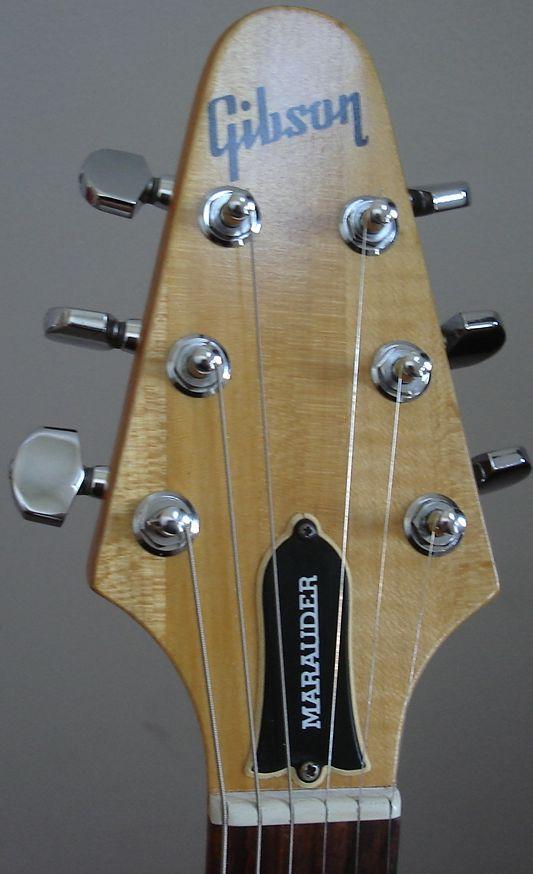 17 best images about guitar cigar box guitar 1976 gibson marauder headstock