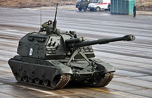 Self-propelled artillery - Wikipedia