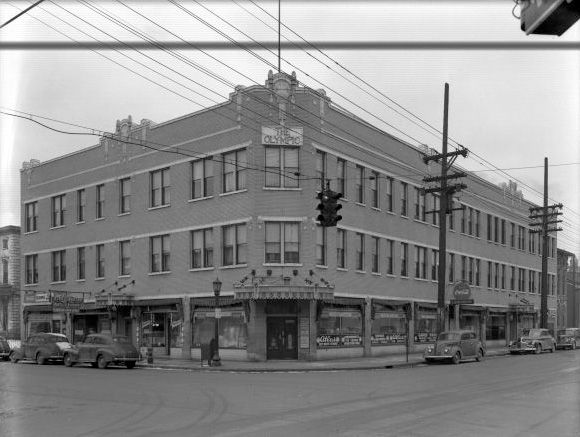 Olympic Apartment Building Corner Of Third St. And Breckinridge St.  Louisville, Ky. Built In The 1920u0027s C 1945 | Big Louu0027s Louisville |  Pinterest