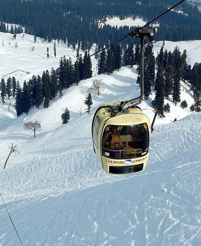 Adventure Beckons! Gulmarg, Kashmir.