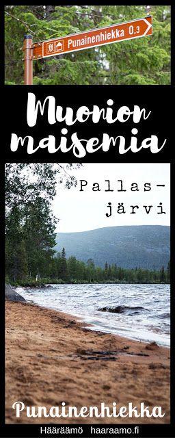 Muonion maisemia: Punainen hiekka, Pallasjärvi