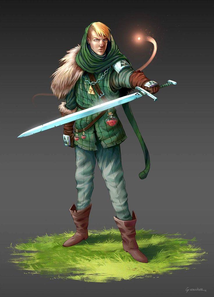 Character Design Challenge Zelda : Les meilleures images du tableau character design
