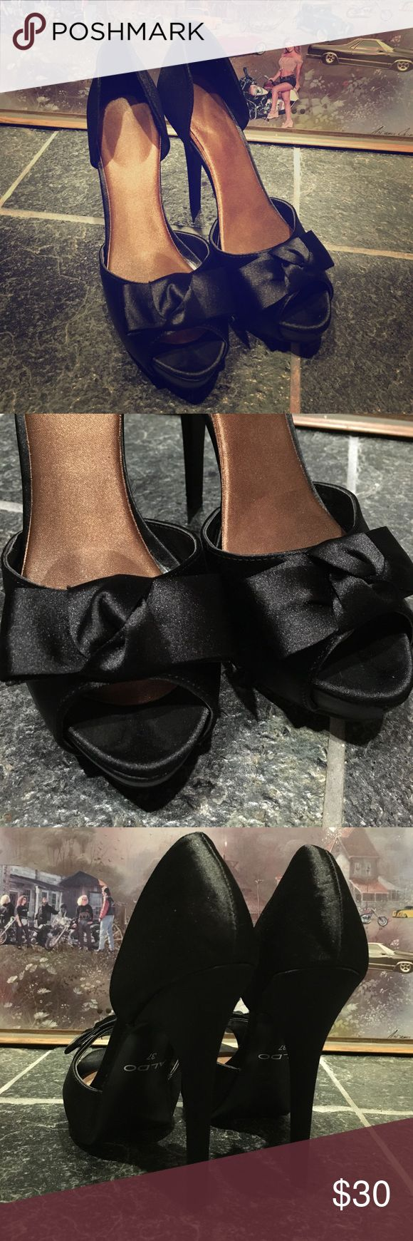 Aldo lil black dress warriors Would go KILLER with your perfect LBD Aldo Shoes Heels