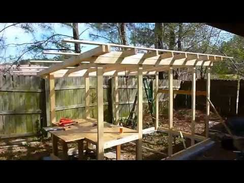 HOW TO BUILD HOUSE FOR THE HENS ( using mostly recycled materials) - YouTube