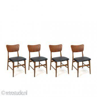 Meer dan 1000 idee n over eettafel stoelen op pinterest for Goedkope industriele eetkamerstoelen