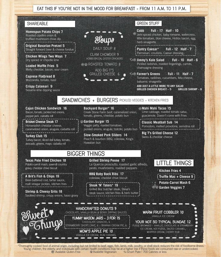 Menu, Pantry,cafe,Mirage Happening in Vegas Pinterest Vegas - beer menu
