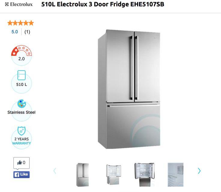 ELECTROLUX FRIDGE EHE5107SB: $2300