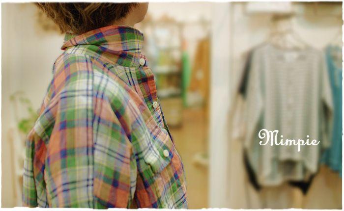 Mimpie・ミンピからフレンチリネンを使ったプルオーバーシャツが届きました。