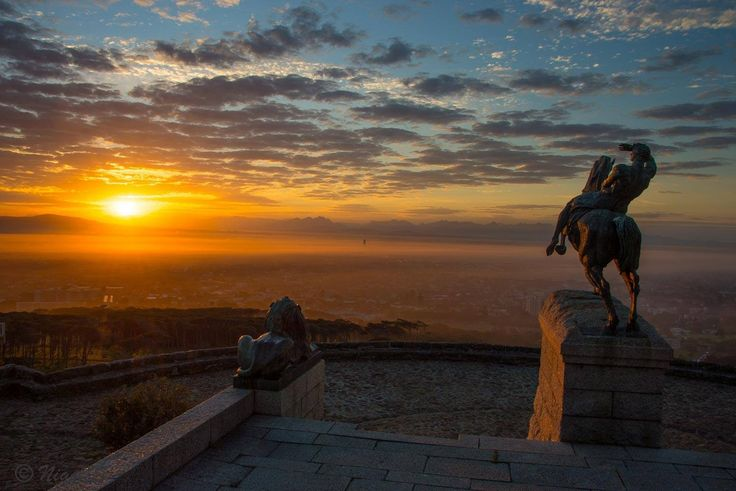 Sunset from Rhodes Memorial, Cape Town