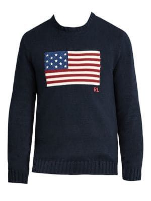 ee0de9b4db02 POLO RALPH LAUREN The Iconic Flag Sweater.  poloralphlauren  cloth ...