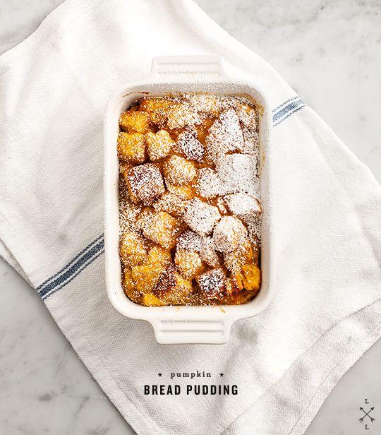 Pumpkin Bread Pudding / Love and Lemons