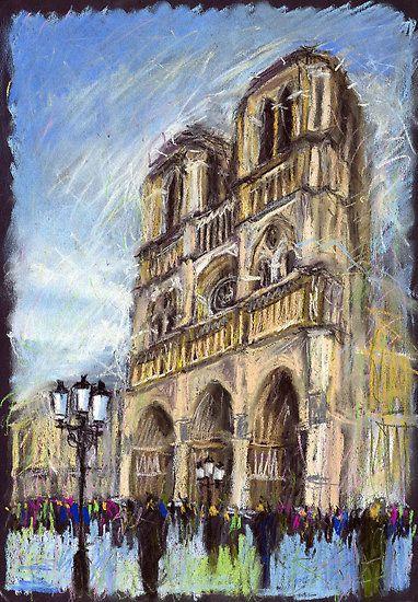 Paris Notre-Dame de Paris 1 by Yuriy Shevchuk