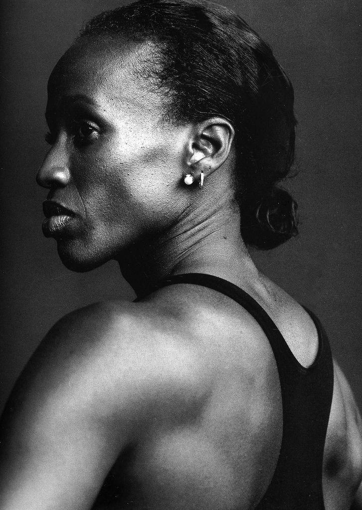 #Annie Leibovitz Photography|#Jackie Joyner-Kersee, Track and field athlete, Floyd Bennett Field, Brooklyn, New York