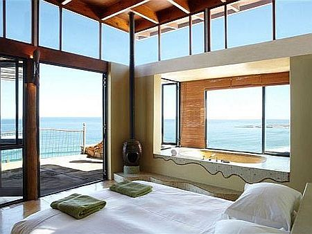 Self catering accommodation, Scarborough, Cape Town  Panoramic sea views from the main bedroom. Absolutely divine!