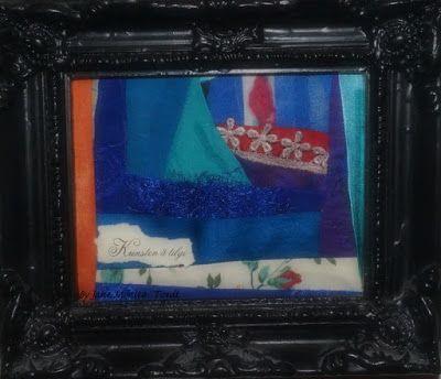 Textil ART by Jane Monica Tvedt - Kunsten å tilgi - the art of forgiveness