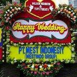 Produk Bunga Papan Happy Wedding