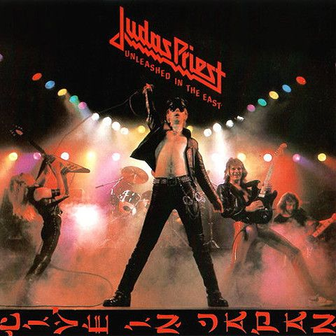 USED VINYL RECORD 12 inch 33 rpm vinyl LP Released in 1979 ,Unleashed in the East is Judas Priest's first live album, recorded live in Tokyo, Japan during the Hell Bent for Leather Tour in 1979. Colum