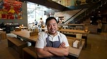 David Chang's world famous Momofuku restaurant in NYC.  He's opening not one but three restaurants in Toronto. mantis ?