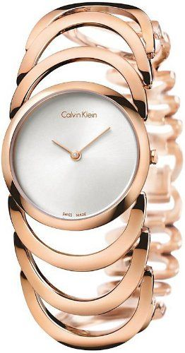 Women's Rose Gold Calvin Klein Body Watch