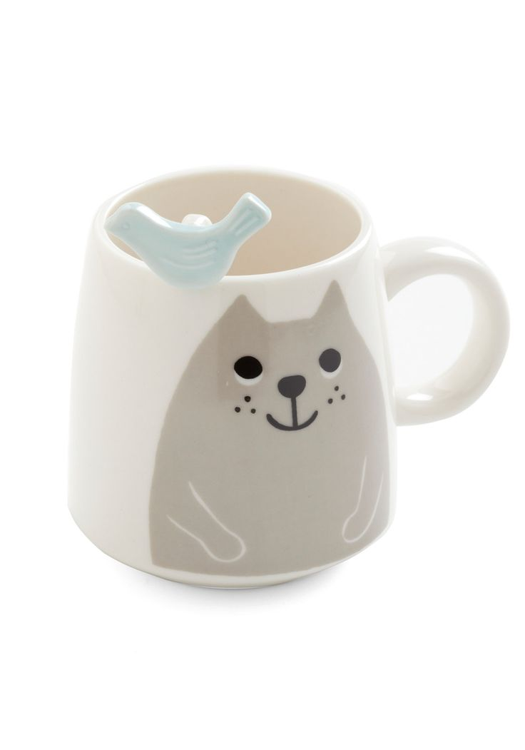 You guys, I think I need another kitty cat mug...It's beginning to be a collection.: Crazy Cat Ladies, Mugs Sets, Crazy Cats, Kitty Cats, Cat Mugs, Cat Cups, Blue Grey, Cat Lovers, Cat Lady